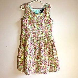🌺Gap kids eyelets floral dress 👗